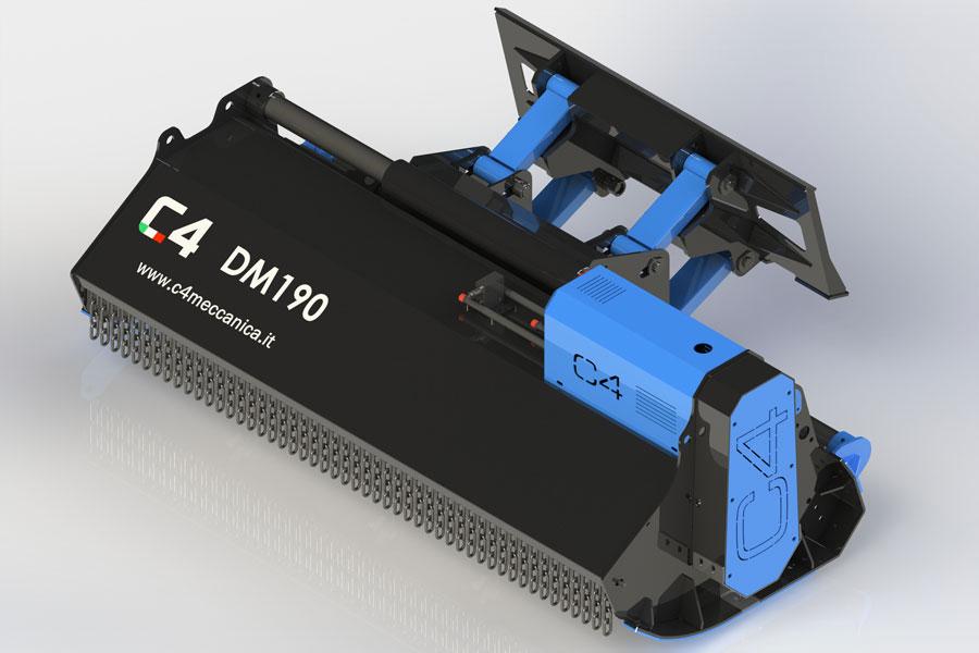 Serie DM – Trinciatrici Idrauliche Per Minipala
