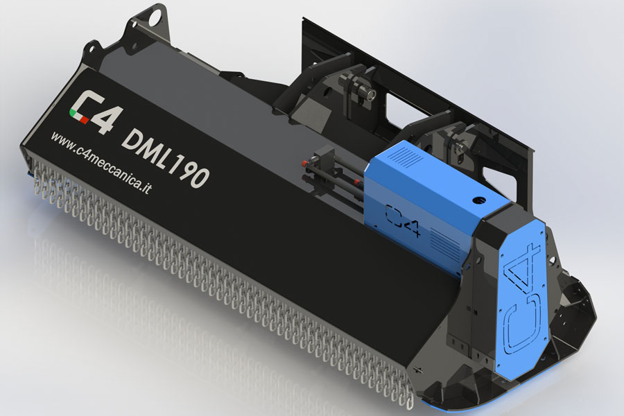 Series DML – Hydraulic Shredders For Skid-steer