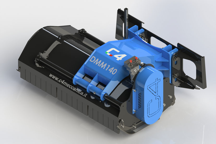 Serie DMM – Trinciatrici Idrauliche Per Minipala
